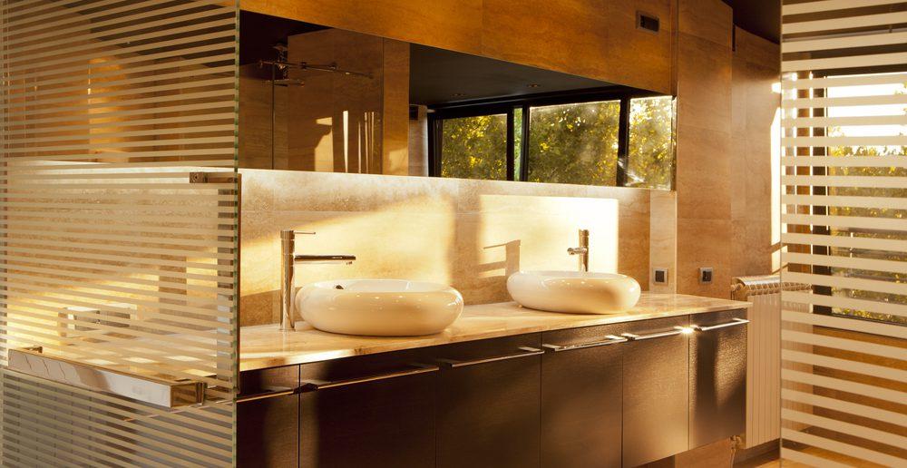 Fliesen Und Keramik Sind Die Badezimmer
