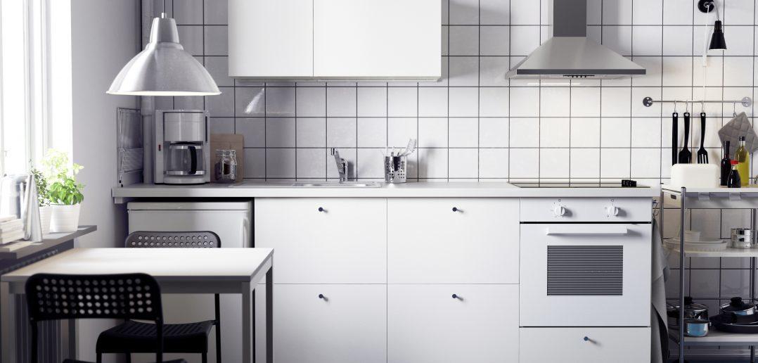 Ikea Küchenzeile in Weiss
