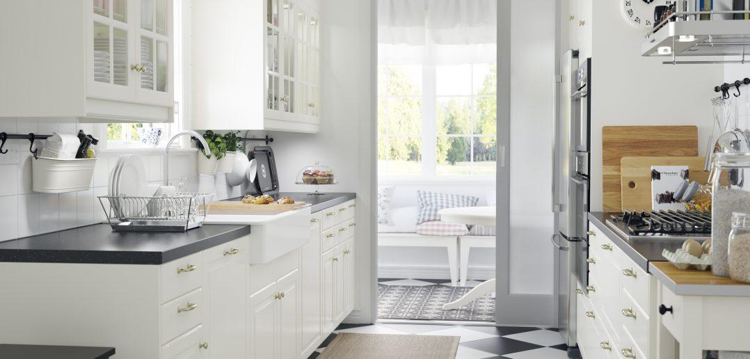 Ikea Landhaus Küche im eleganten Weiss