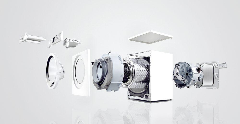 Waschmaschine Aufbau