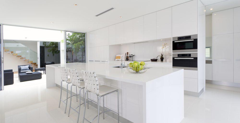 Wohnküche Weiss