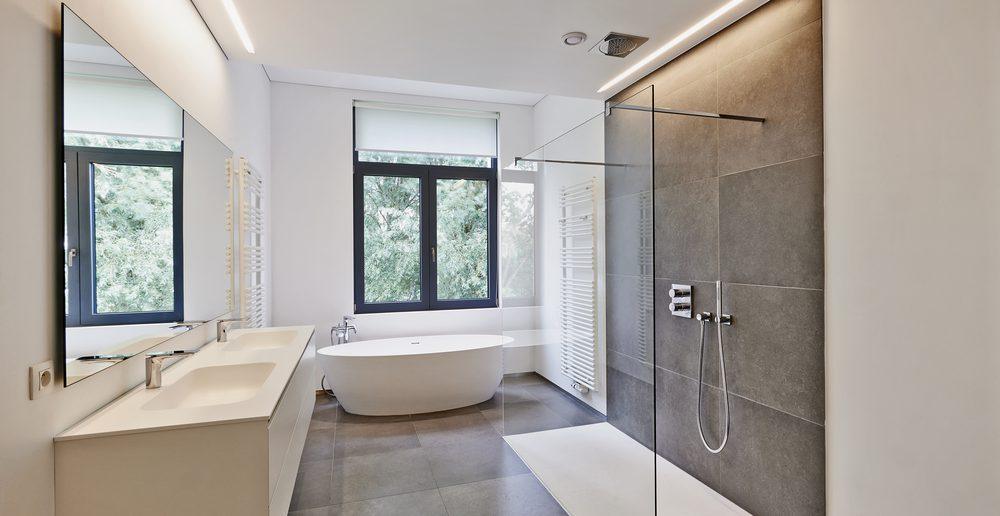 Superb Duschwand Glas Badezimmer