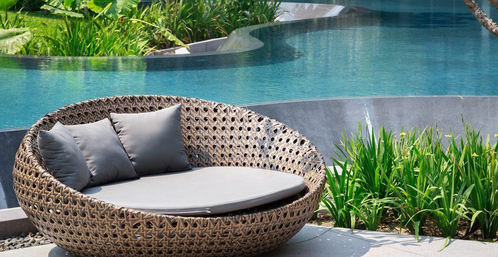 Gartenmöbel Polyrattan Rattan Sessel