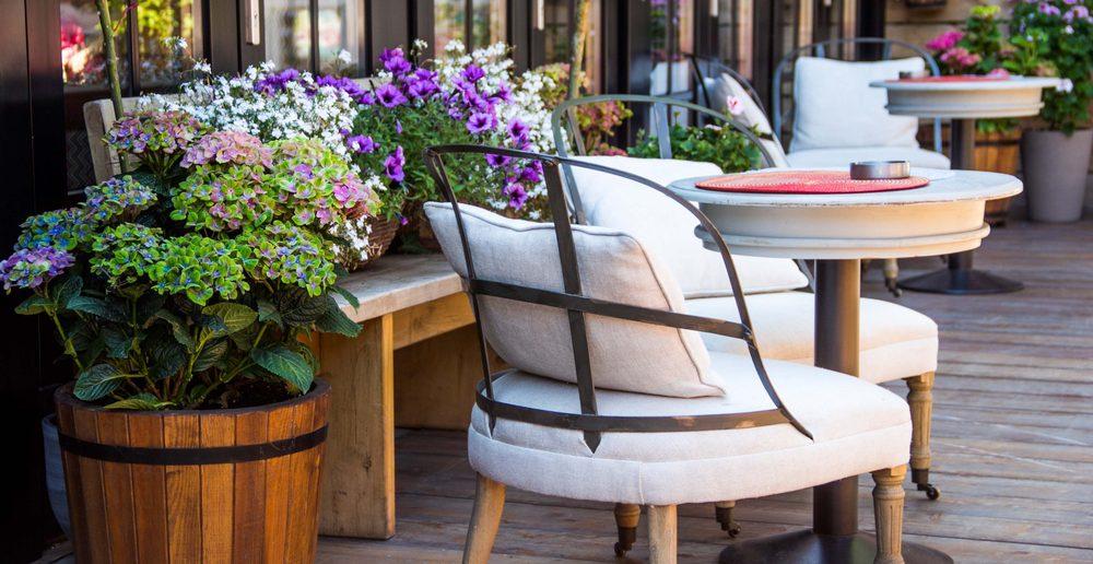 mit k belpflanzen die terrasse aufwerten ratgeber haus garten. Black Bedroom Furniture Sets. Home Design Ideas