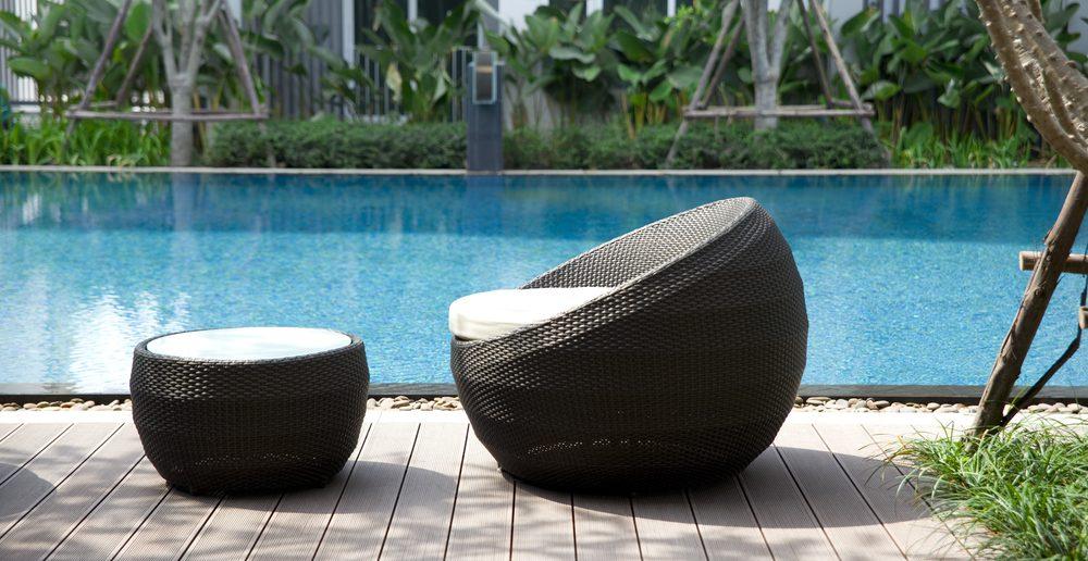 AuBergewohnlich Polyrattan Sessel Gartenmöbel