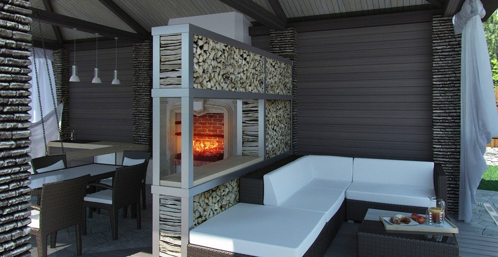 terrassenkamin f r die langen abende ratgeber haus garten. Black Bedroom Furniture Sets. Home Design Ideas