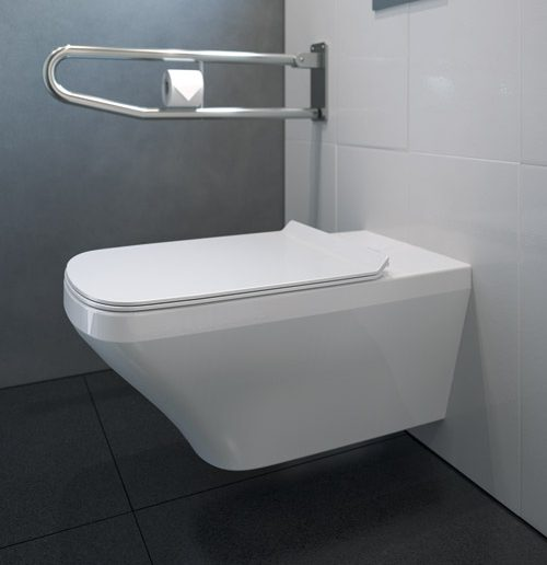 WC Sitz Barrierefrei Hägend Weiss Durastyle